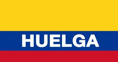 Huelga en Colombia