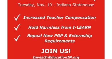 Red for Ed Indiana