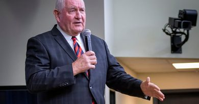 USDA Head Visits Indy Amid Food-Stamp Cuts