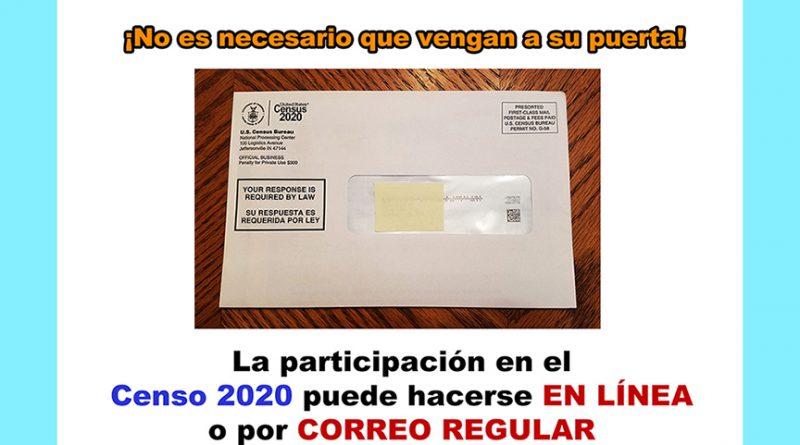 Todos participemos en el censo!