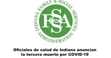 Tercera Muerte Coronavirus Indiana