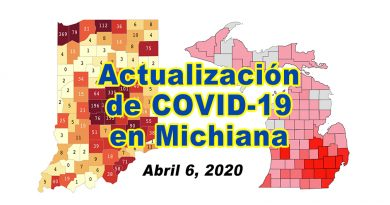 Indiana Michigan Covid Update