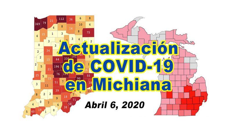 Indiana Michigan Covid Update