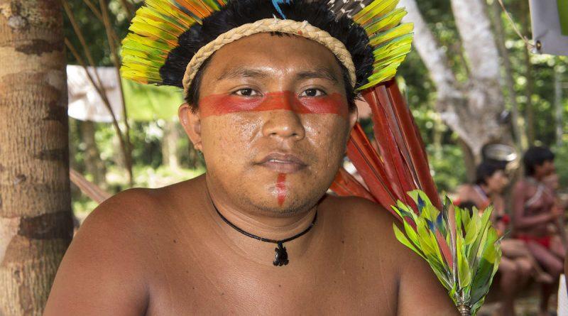 Darío Yanomami de la Asociación Hutukara Yanomami