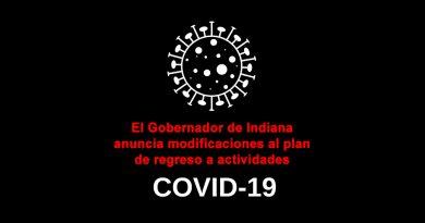 El Gobernador anuncia modificaciones al plan de regreso a actividades