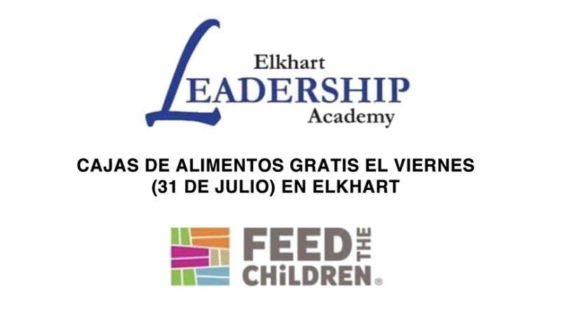 CAJAS DE ALIMENTOS GRATIS EL VIERNES (31 DE JULIO) EN ELKHART