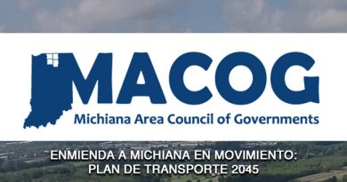 ENMIENDA A MICHIANA EN MOVIMIENTO: PLAN DE TRANSPORTE 2045