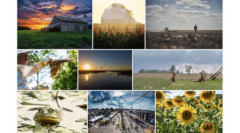 Ganadores del concurso de fotografía galardonados en la Casa del Estado de Indiana