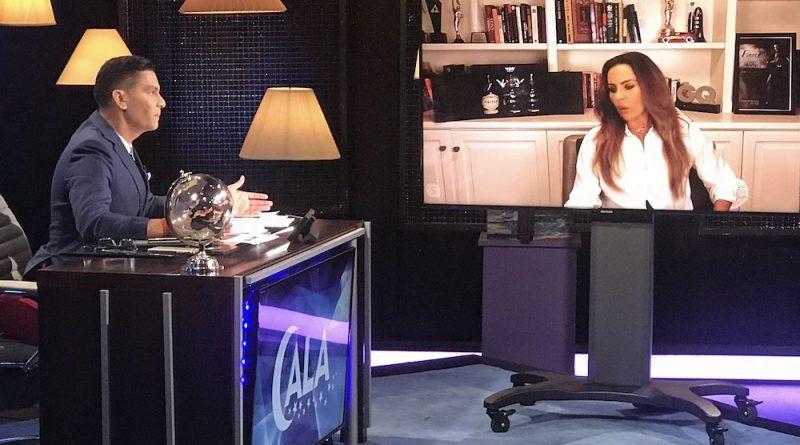 """En el programa """"Cala"""", Kate del Castillo no se arrepintió de la contundente crítica a Angélica Rivera, al sostener que """"no hizo nada"""" cuando fue Primera Dama de México."""