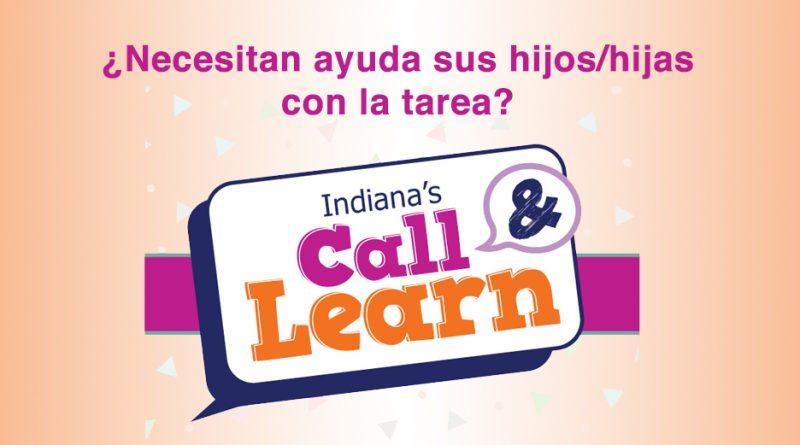 La línea de Llame y Aprenda conecta a los estudiantes de K-12 con los maestros retirados en Indiana