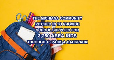 THE MICHIANA COMMUNITY PITCHED IN TO PROVIDE SCHOOL SUPPLIES FOR 3,250 AREA KIDS THROUGH 16 PACK-A-BACKPACK