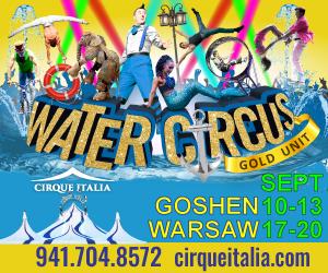 ¡Traiga a la familia al espectáculo de Cirque Italia en Goshen!