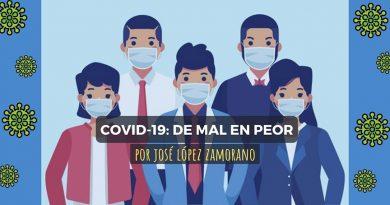 COVID-19: DE MAL EN PEOR