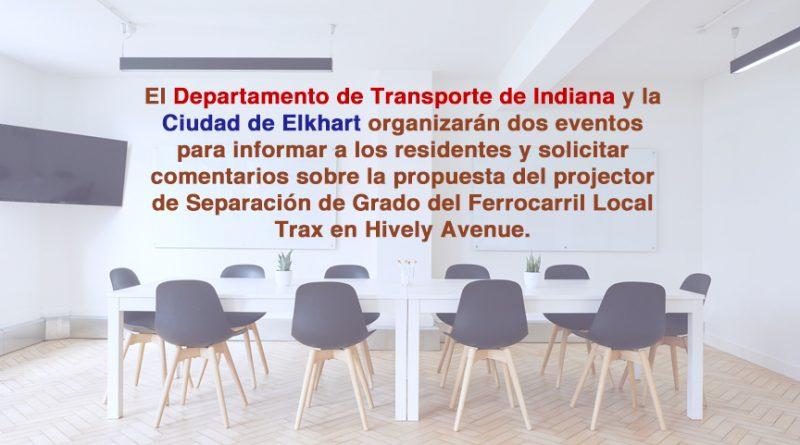 La reunión virtual y en persona tienen como objetivo informar a los residentes y propietarios de negocios