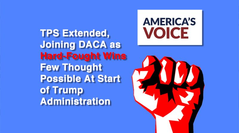 TPS Extended, Joining DACA