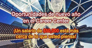 Oportunidades de nuevo año en el Career Center
