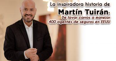 La inspiradora historia de Martín Tuirán: De lavar carros a manejar 400 agentes de seguros en EEUU