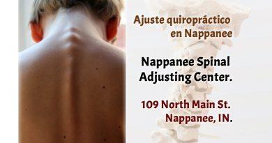 Ajuste quiropráctico en Nappanee