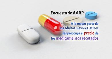 Encuesta de AARP: A la mayor parte de los adultos mayores latinos les preocupa el precio de los medicamentos recetados