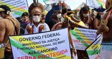 Protestas mundiales mientras el Tribunal Supremo de Brasil se dispone a dictar una sentencia histórica sobre los derechos indígenas