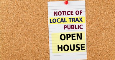 NOTICE OF LOCAL TRAX PUBLIC OPEN HOUSE