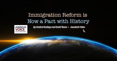 Immigration Reform is Now a Pact with History