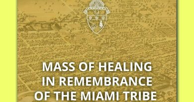 Bishop Kevin C. Rhoades to Celebrate Mass of Healing and Remembrance of Miami Tribe